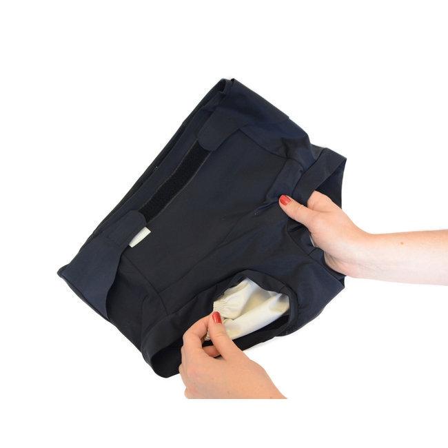 culotte incontinence mod r e forte pour femme noir par filigrame. Black Bedroom Furniture Sets. Home Design Ideas
