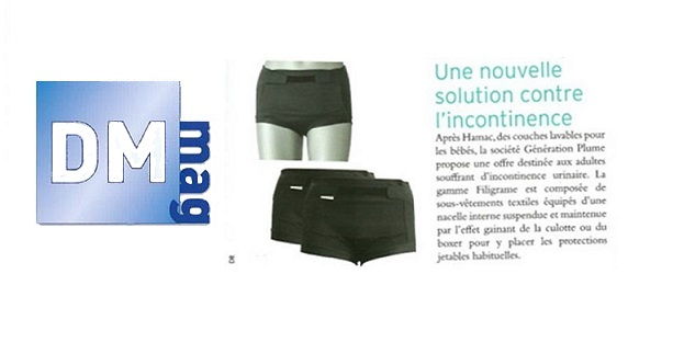 « Une nouvelle solution contre l'incontinence »